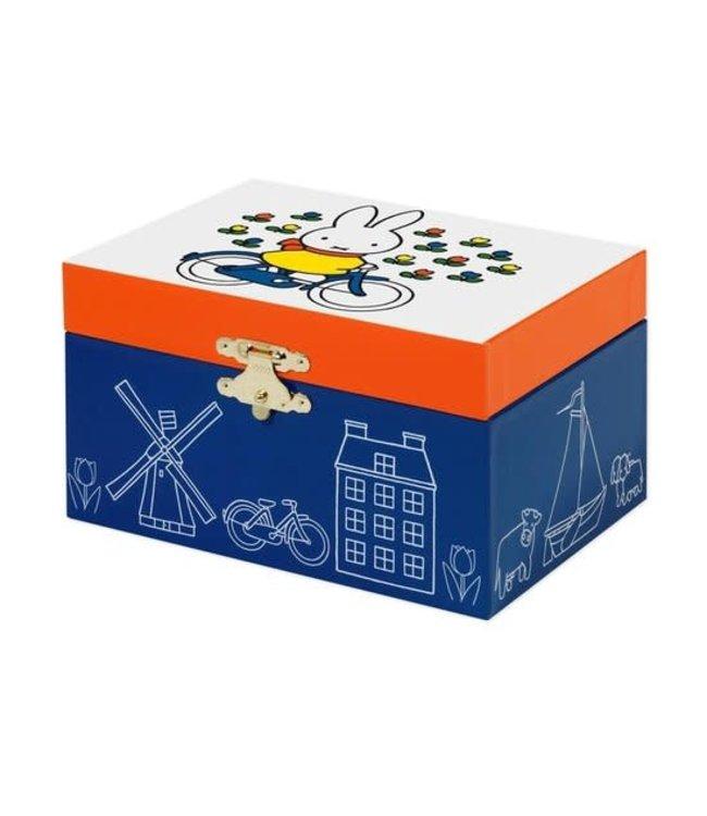 Miffy Jewellerybox Holland Nijntje Muziekdoosje