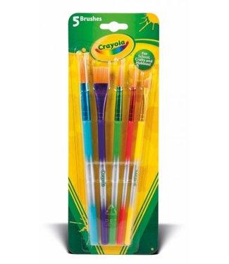Crayola Crayola 5 Verfpenselen 3+
