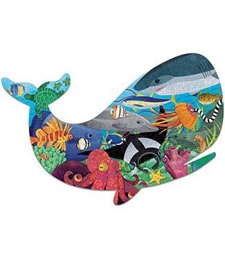 Mudpuppy Mudpuppy Shaped Puzzle Ocean Liffe 300 pcs 7+