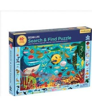 Mudpuppy Mudpuppy Search & Find Puzzle Ocean Life 64 pcs 4+
