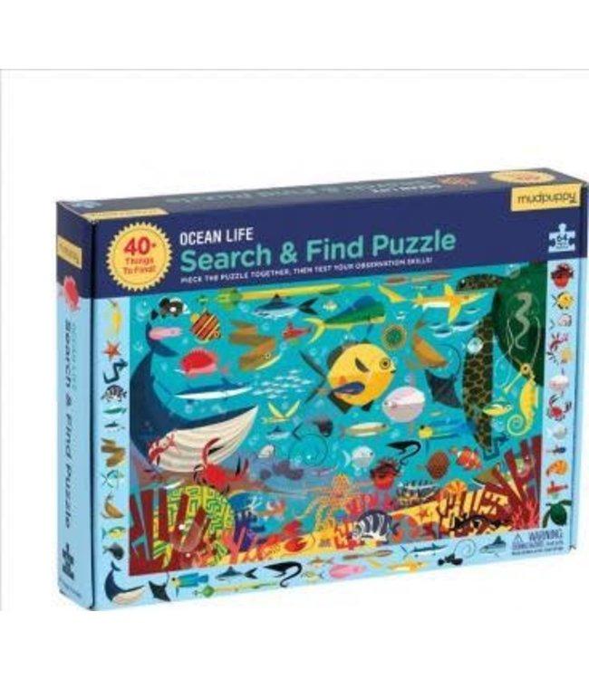 Mudpuppy   Puzzle   Search & Find   Ocean Life   64 delig   4+