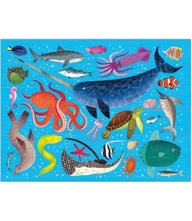 Mudpuppy | Puzzle To Go | Ocean Life | 36 pcs | 3+