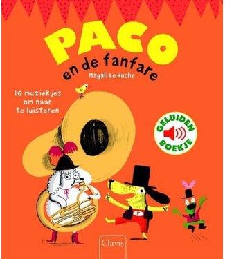 Clavis Clavis Geluidenboekje Paco en de Fanfare  3+