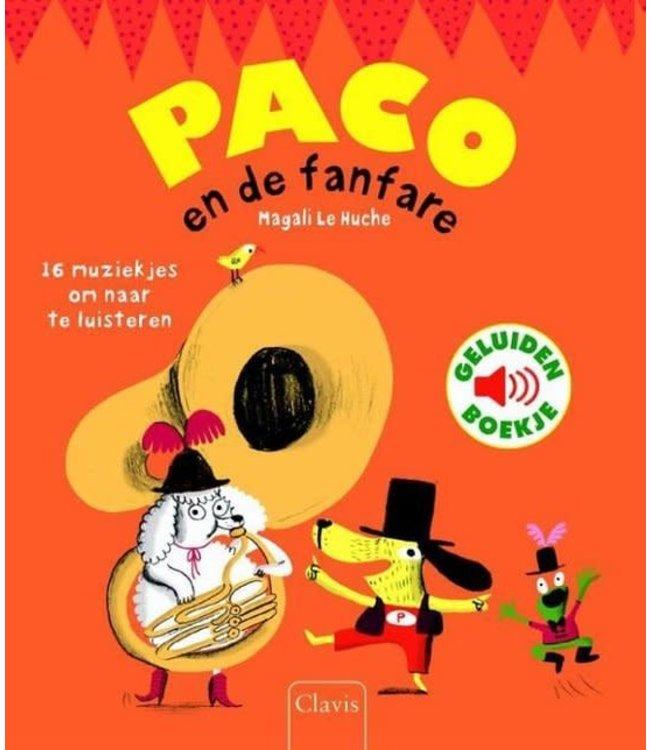 Clavis | Geluidenboekje | Paco en de Fanfare | 3+