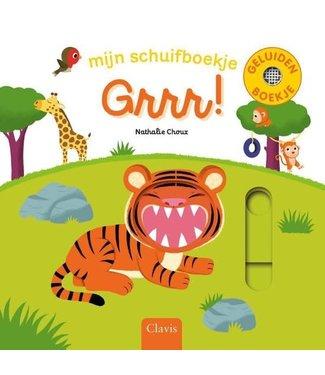 Clavis Clavis Mijn Schuif- en Geluidenboekje Grrr!  1+