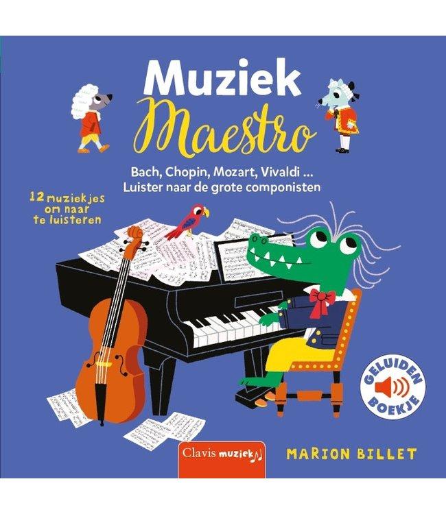 Clavis   Geluidenboekje   Muziek Maestro   2+