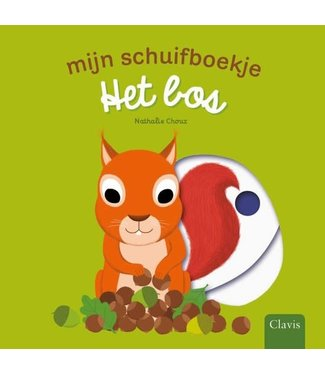 Clavis Clavis Mijn schuifboekje Het Bos (karton) 1+