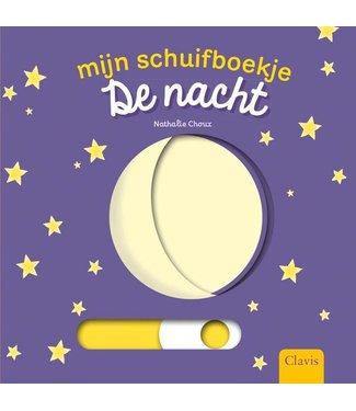 Clavis Clavis Mijn schuifboekje De Nacht (karton) 1+