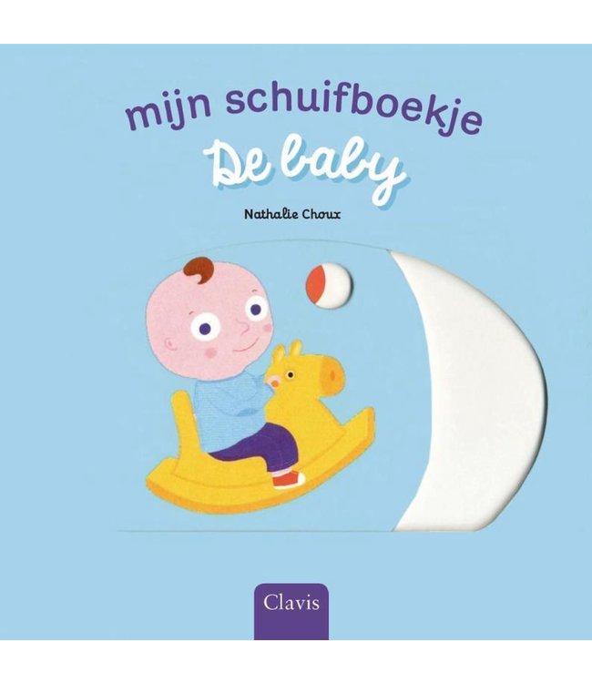 Clavis | Mijn schuifboekje | De Baby (karton) | 1+