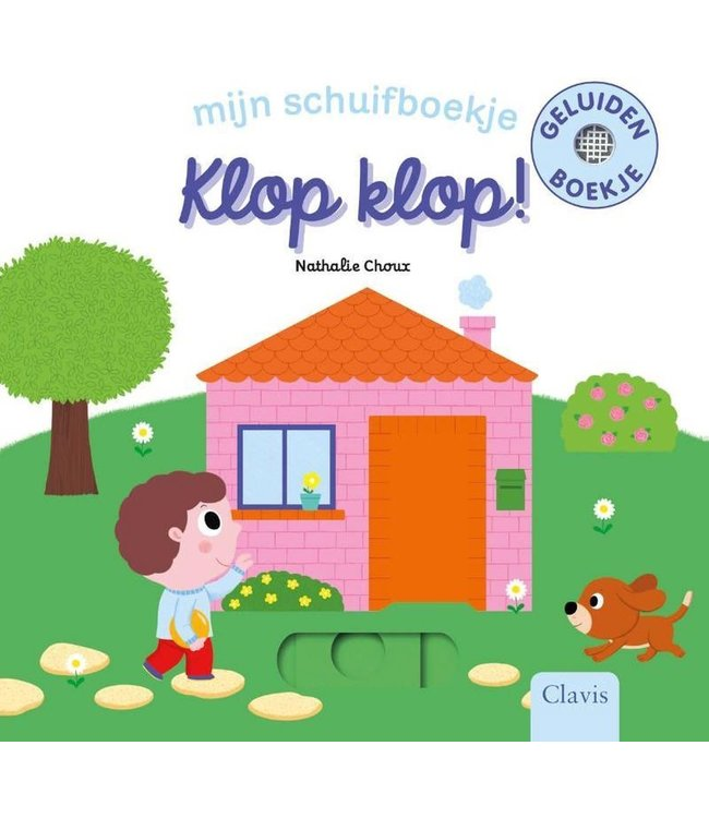 Clavis | Mijn schuifboekje | Klop Klop (karton) | 1+