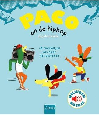 Clavis Clavis Geluidenboek Paco en de Hiphop 3+