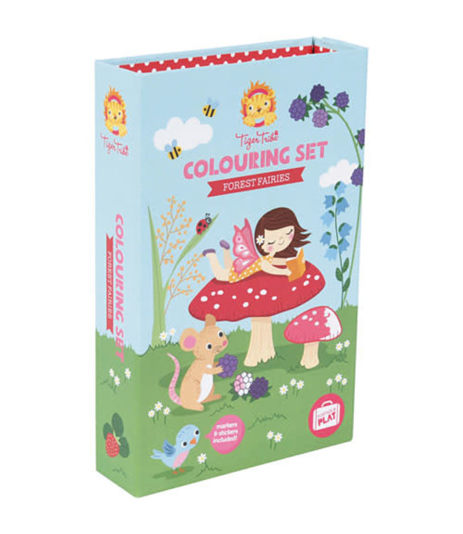Tiger Tribe Colouring Sets Forest Fairies 5+