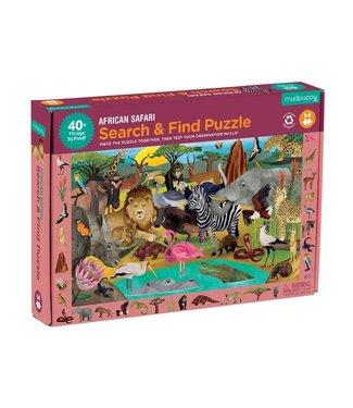 Mudpuppy Mudpuppy Search & Find Puzzle African Safari 64 pcs 4+