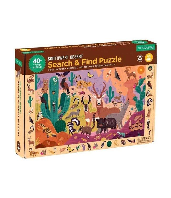 Mudpuppy | Puzzle | Search & Find | Southwest Desert | 64 delig | 4+