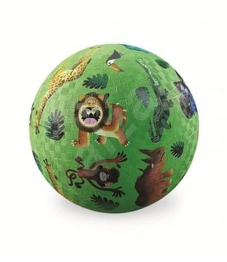 Crocodile Creek Crocodile Creek | Rubber Playball |  Very Wild Animals | 18 cm | 3+