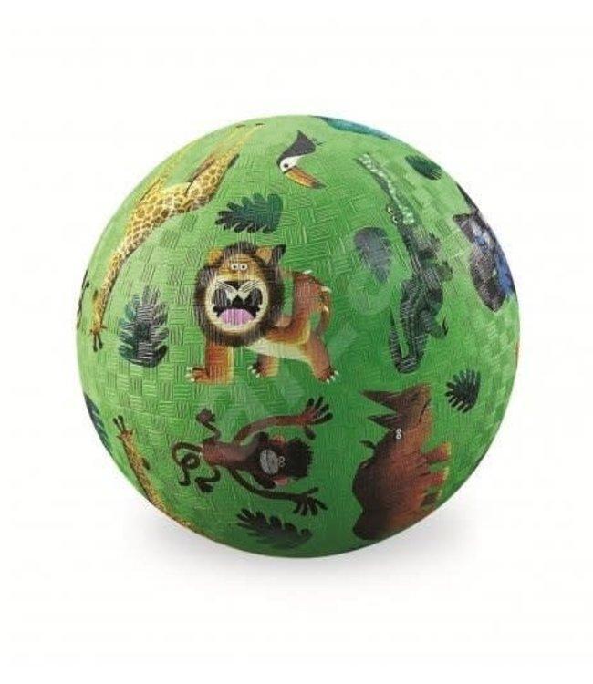 Crocodile Creek | Rubber Playball |  Very Wild Animals | 18 cm | 3+