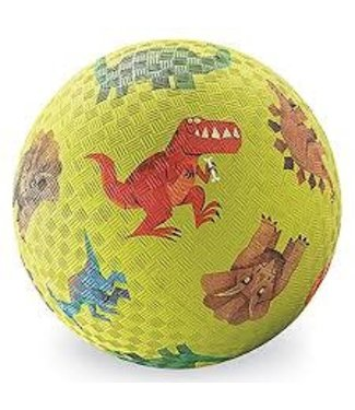 Crocodile Creek Crocodile Creek Rubber Ball Ø 18 cm Dino's  3+