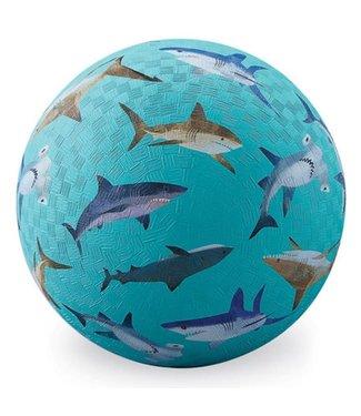 Crocodile Creek Crocodile Creek | Rubber Playball | Sharks | 13 cm | 3+