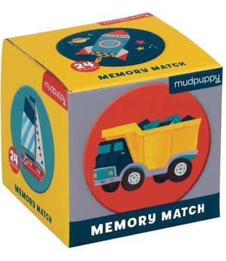 Mudpuppy Mudpuppy Mini Memory Game Transportation 24 dlg  3+