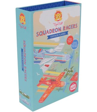 Tigre Tribe Tiger Tribe | Portable Play |Squadron Racers | Vintage Planes | 5+