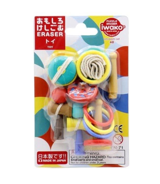 iwako Puzzle Eraser Toys Set 3+