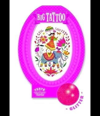 Djeco Djeco Big Tattoo India Rose 6+