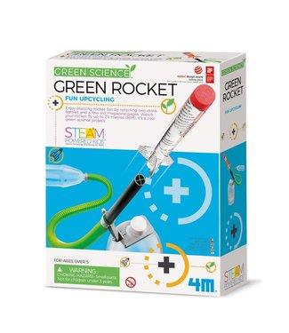 4M 4M | KidzLabs | Green Science | Green Rocket | 8+
