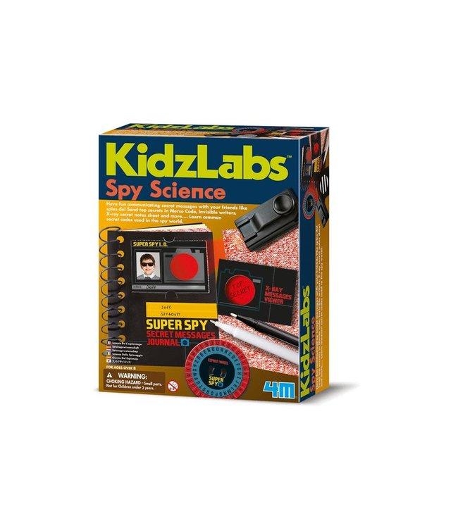 4M Kidzlabs Spy Science  Geheime Boodschap 8+