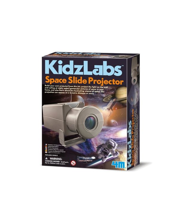 4M Kidzlabs Diaprojector Ruimte 8+