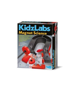 4M 4M Kidzlabs Magnet Science 8+