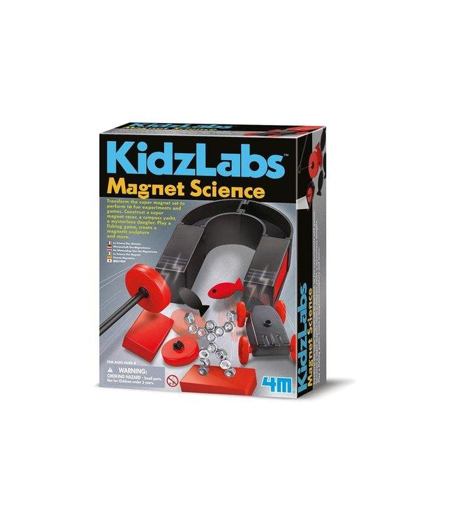 4M Kidzlabs Magnet Science 8+