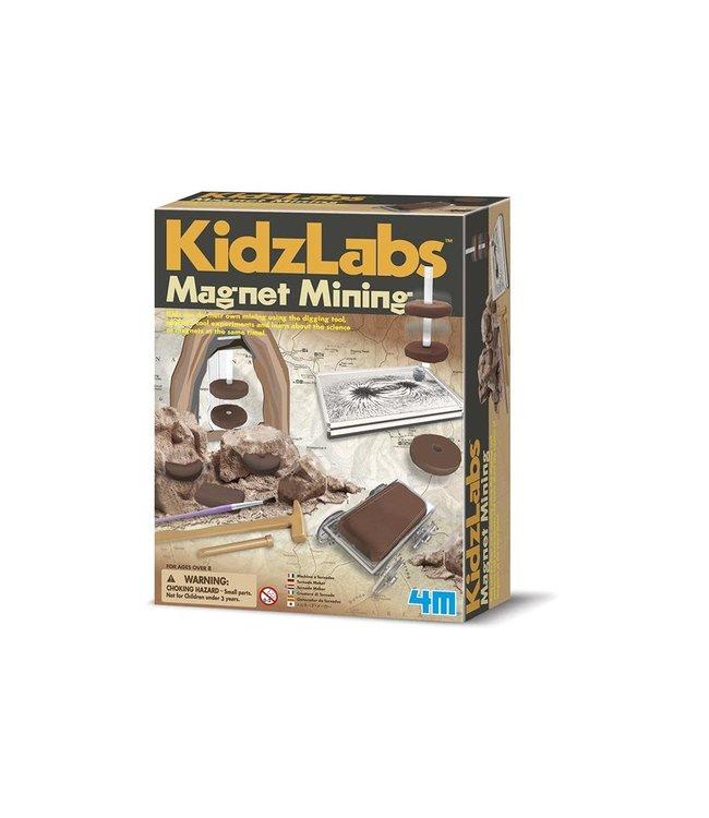 4M KidzLabs Opgraafkit Magneten 5+