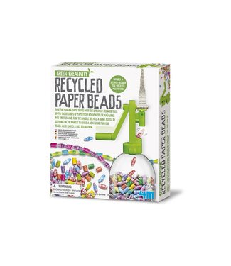 4M 4M   Green Creativity   Recycled Papieren Ketting   5+