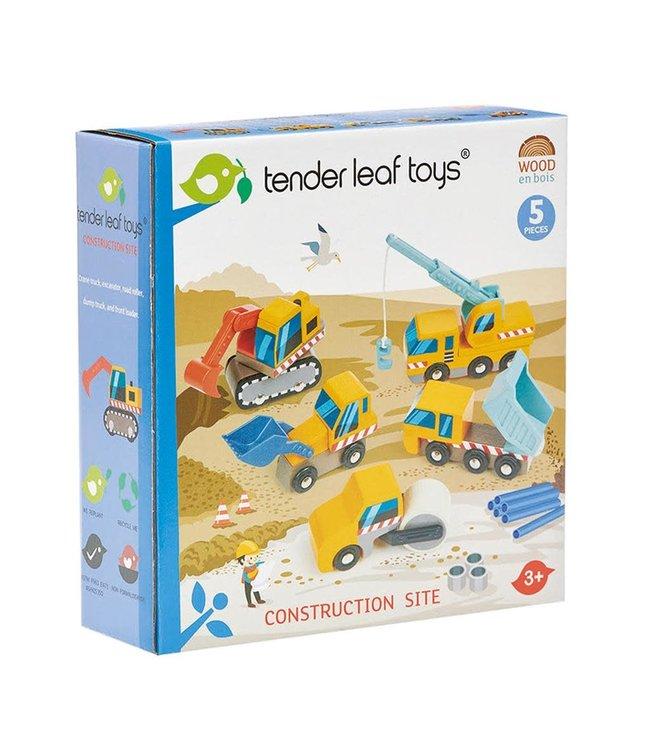 Tender Leaf Toys Construction Site  3+