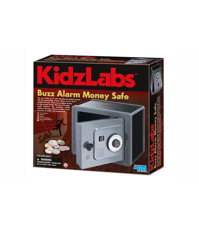 4MKidzlabs Spy Science Geldkluis met Alarm 8+