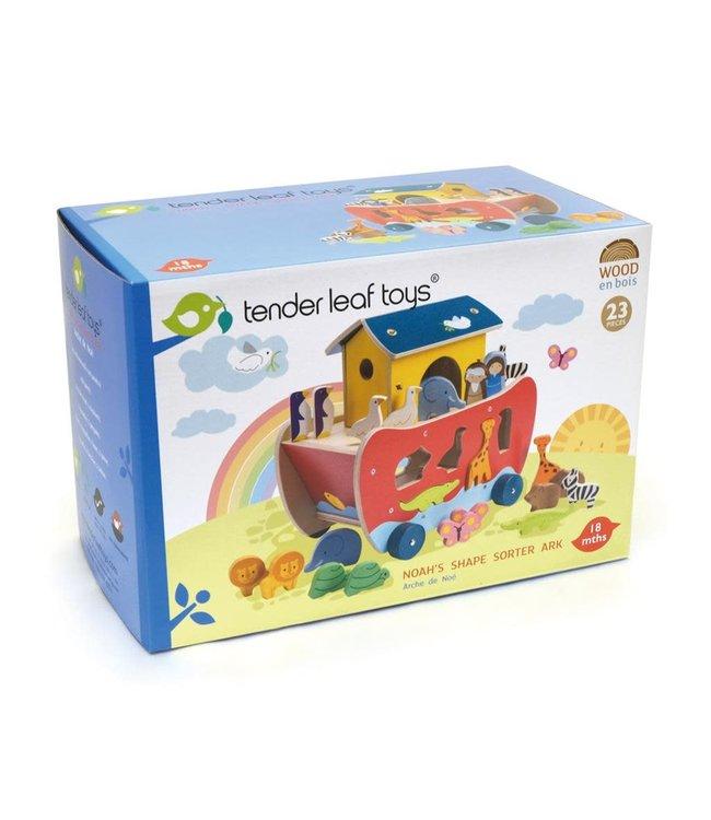 Tender Leaf Toys | Noah's Shape Sorter | Ark | +18 mnd
