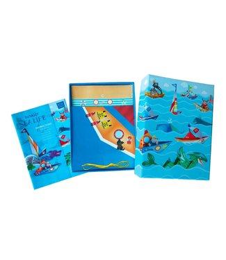 the Bubble Factory Box Candiy Totally Sea Life - Origami Het Zeeleven, met 40 Vouwpapieren 6+
