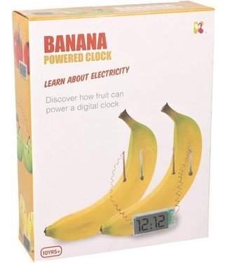 Keykraft Keycraft Bananenklok 8+