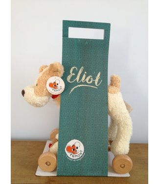 Egmont Toys Egmont Toys Houten trekfiguur Elliot 30 cm 1+