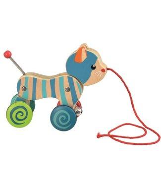 Egmont Toys Egmont Toys | Houten trekfiguur | Poes | 1+