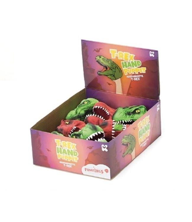 Keycraft Latex Handpop T-rex 12 cm 5+
