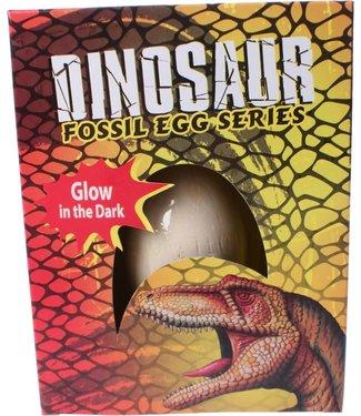 Glow in the Dark Dino Uithak-ei 3+