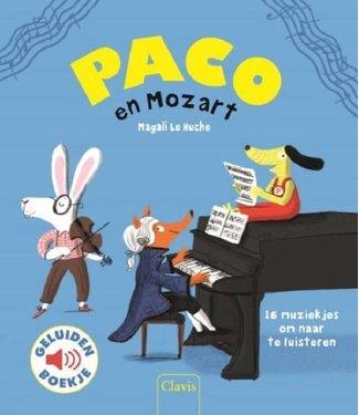 Clavis Clavis Geluidenboekje Paco en Mozart  3+