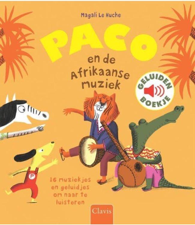 Clavis Geluidenboek Paco en de Afrikaanse muziek  3+