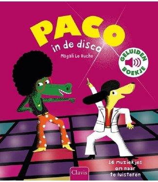 Clavis Clavis | Geluidenboek | Paco in de disco | 3+