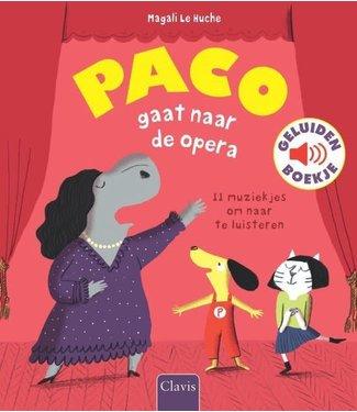 Clavis Clavis | Geluidenboek | Paco gaat naar de Opera | 3+