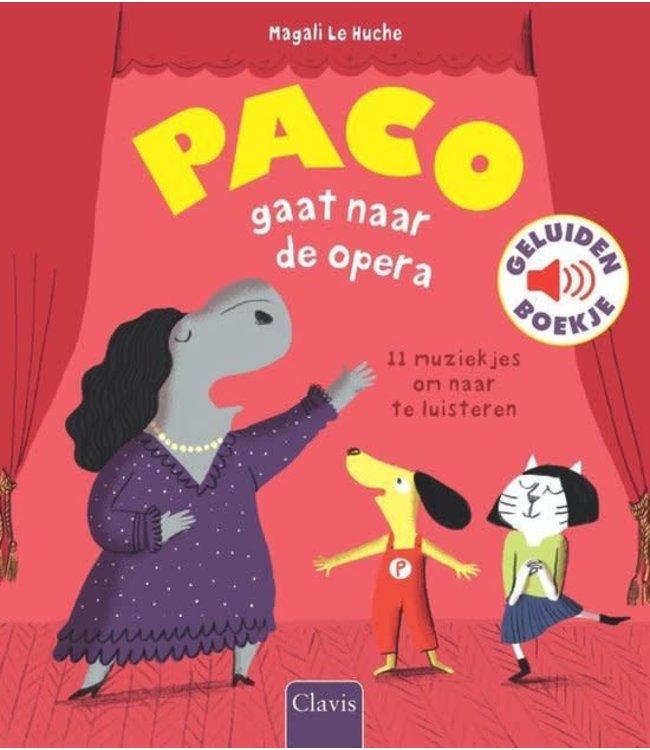 Clavis Geluidenboekje Paco gaat naar de Opera  3+