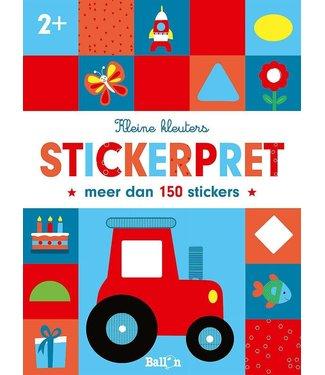 Kleine Kleuters Tractor Stickerpret 2+