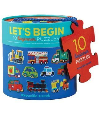 Crocodile Creek Crocodile Creek | Puzzle | Let's Begin | Vehicles | 2+