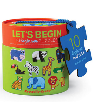 Crocodile Creek Crocodile Creek | Puzzle | Let's Begin | Jungle | 2+